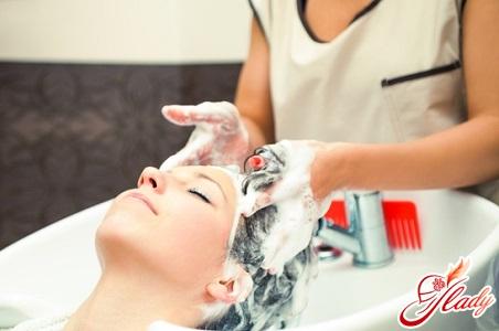 washing hair mask