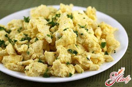 як приготувати омлет з яєць