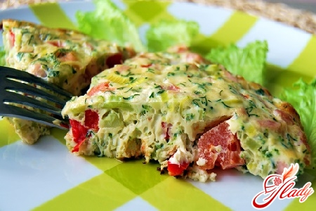 omelette recipe with sausage