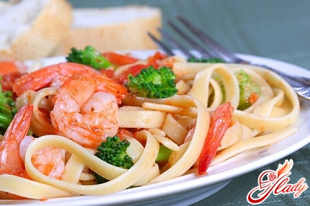 how to cook pasta with seafood