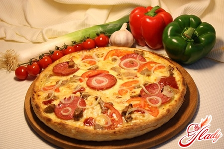 we cook pizza at home