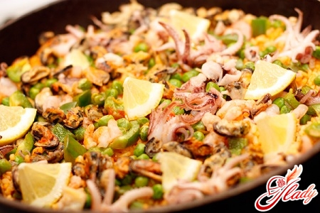 how to cook pilaf with seafood