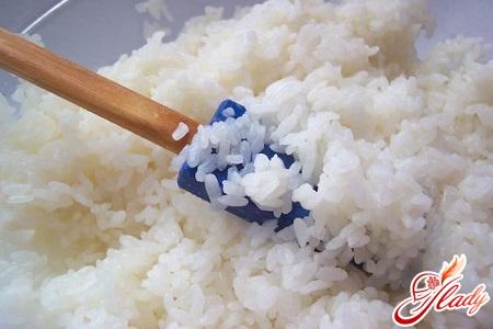 приготування рису в каструлі