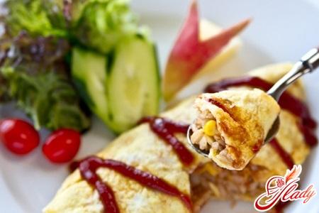 rice omelette