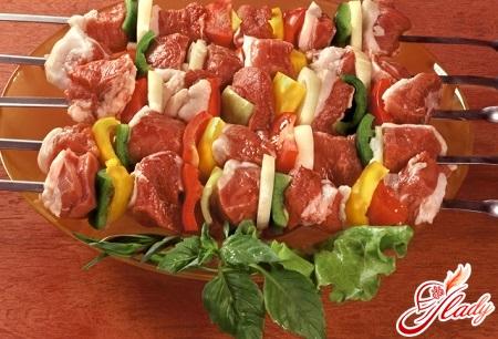 choice of meat for shish kebab
