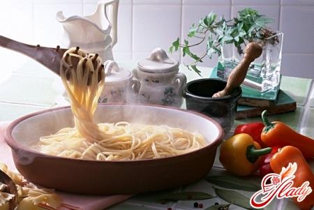 готові спагетті