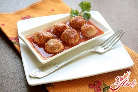 recipe for meatballs with sauce