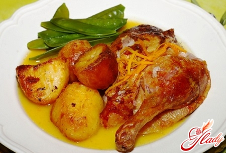 recipe of duck with potatoes in multivark