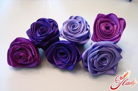 як зробити квітку з тканини своїми руками