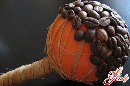 як зробити кавове дерево своїми руками