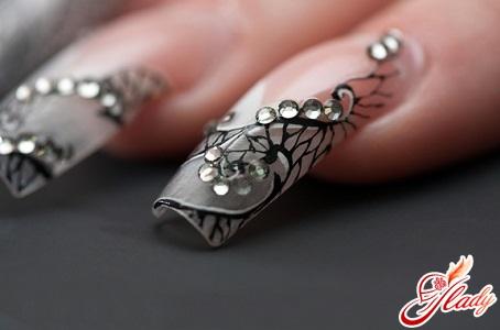 nail extensions at home