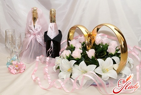 wedding accessories with your own hands