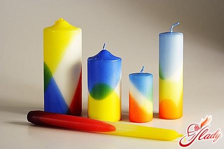 як зробити свічки вдома
