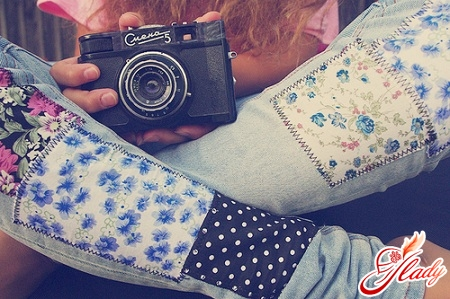 decorate jeans with your own hands