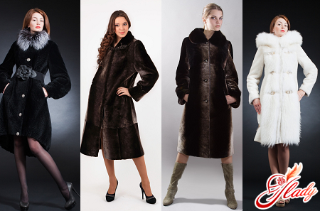 how to choose a fur coat from Mouton