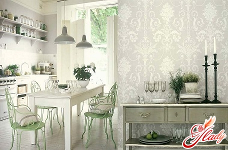 How to choose wallpaper for the kitchen