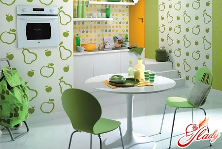 what to choose wallpaper for the kitchen
