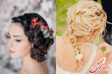 how to make a hairstyle for the wedding