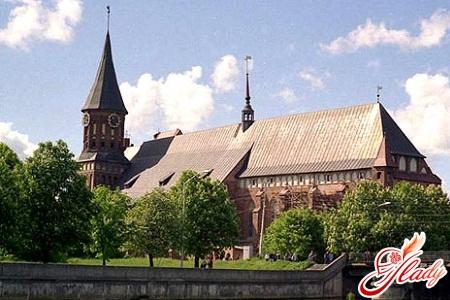 sights of Kaliningrad
