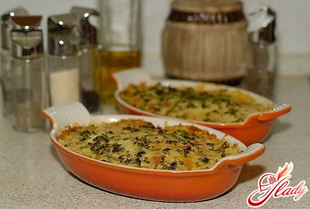 potato casserole with fish