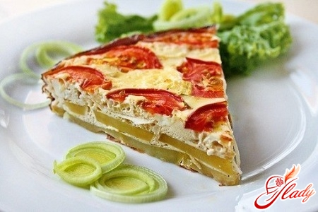 casserole with cheese