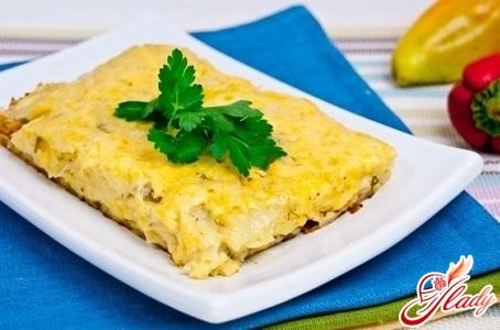 potato casserole with cheese