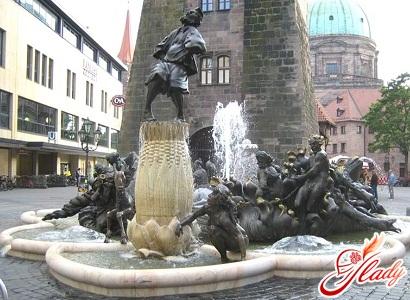 sights of Nuremberg germany