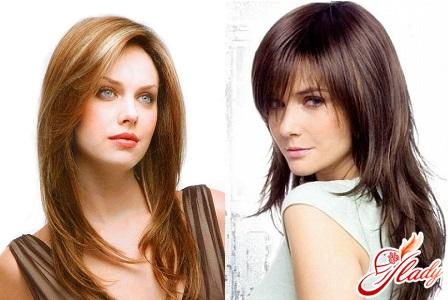 fashion cascade for long hair