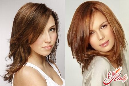 fashion cascade for medium hair