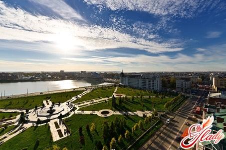 park of the 1000th anniversary of Kazan