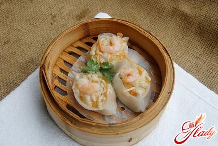 recipe for Chinese dumplings