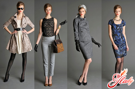 classic style of clothes