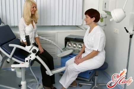 consultation with gynecologist