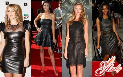 leather dresses 2011