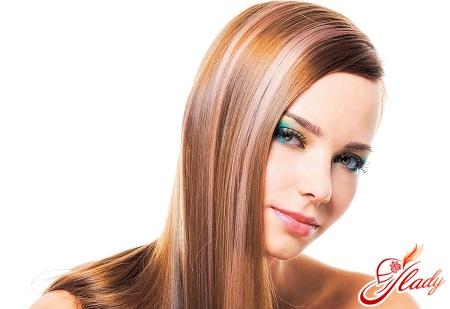 soft coloring of dark hair