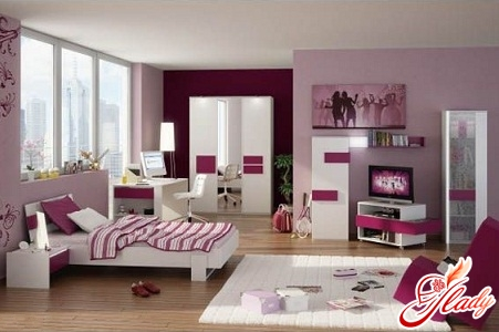 A cozy room for a teenage girl