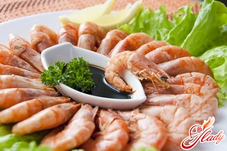 shrimp with soy sauce