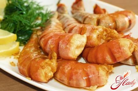 royal prawns in soy sauce