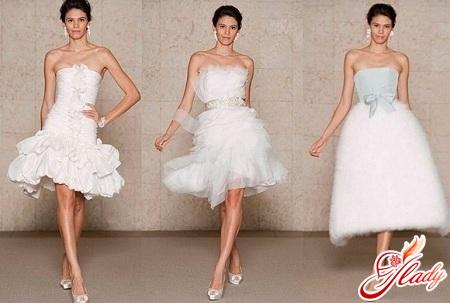 short wedding dress 2012