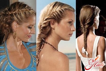plaiting braids