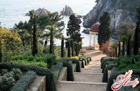 Botanical Gardens of Costa Brava
