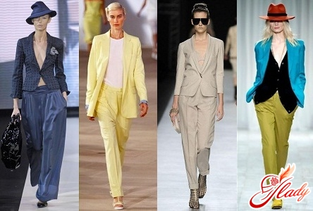 trouser suit for women