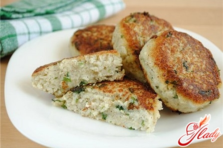 cutlets with cabbage