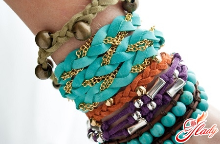 stylish bracelets with your own hands