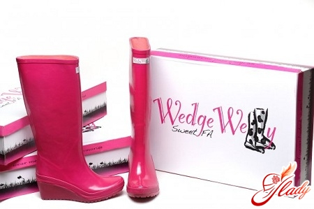 beautiful rubber boots