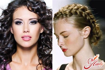 укладання для волосся середньої довжини