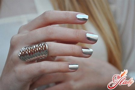 beautiful manicure with your hands