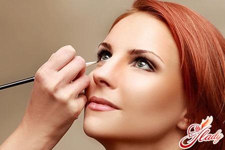 light wedding makeup for green eyes