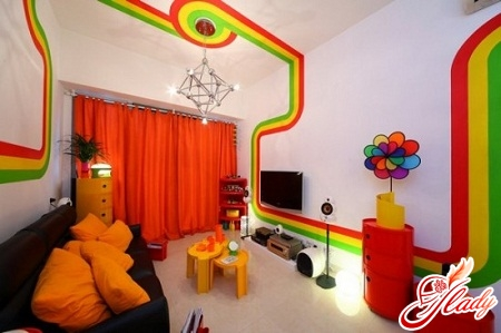 decorating the walls with your own hands