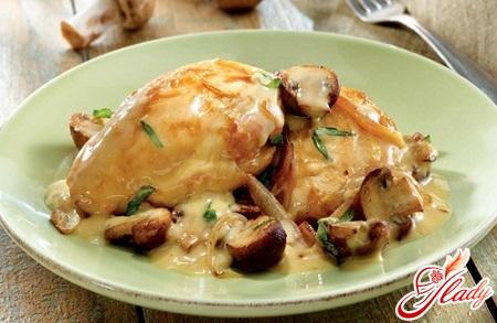 classic recipe for chicken in sour cream